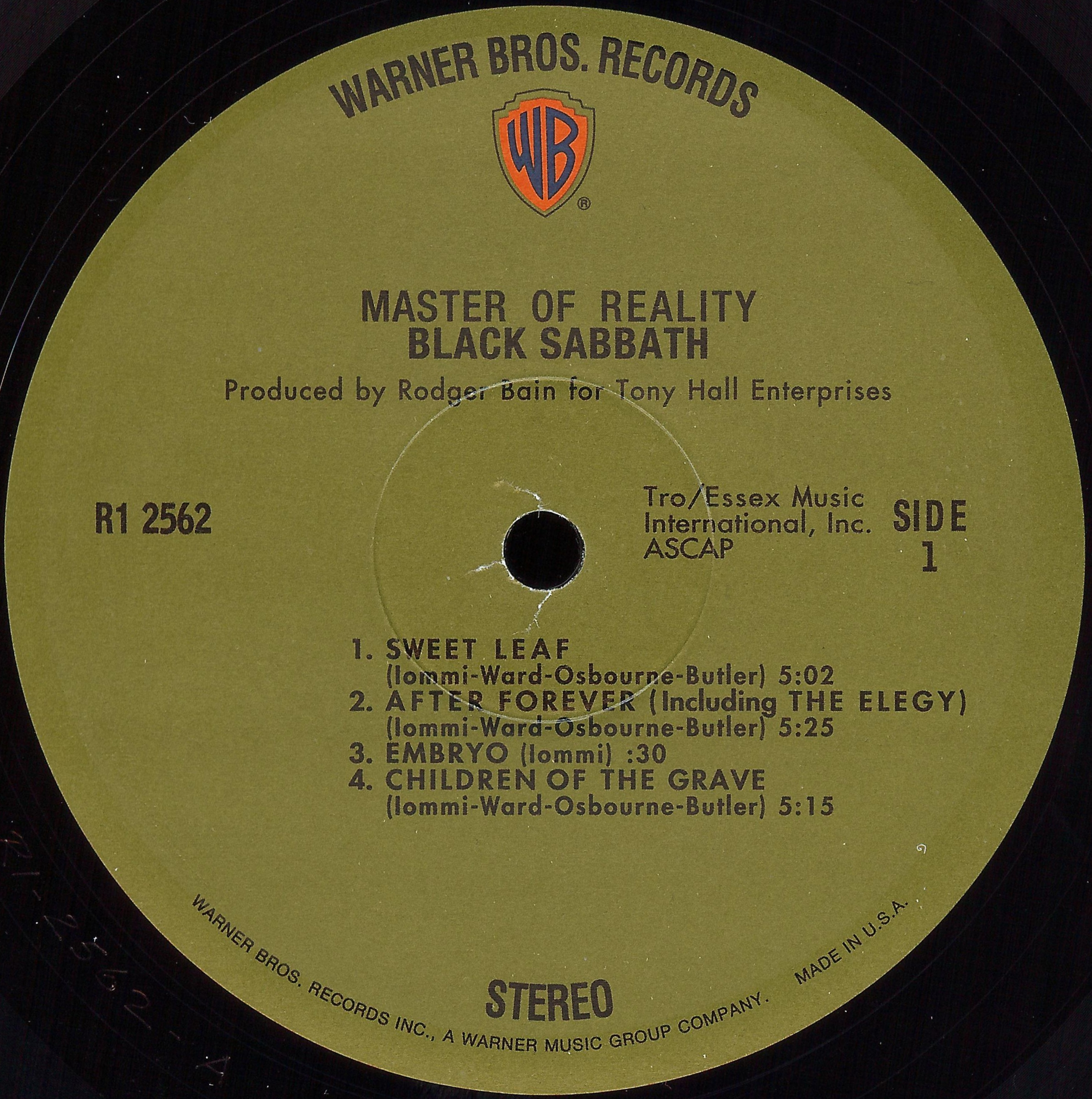 Black Sabbath 171 Dazzrecords
