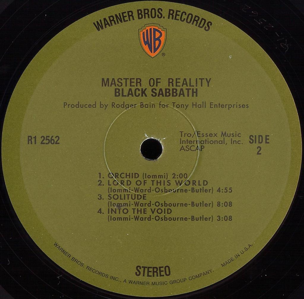 Black Sabbath Master Of Reality 1971 171 Dazzrecords