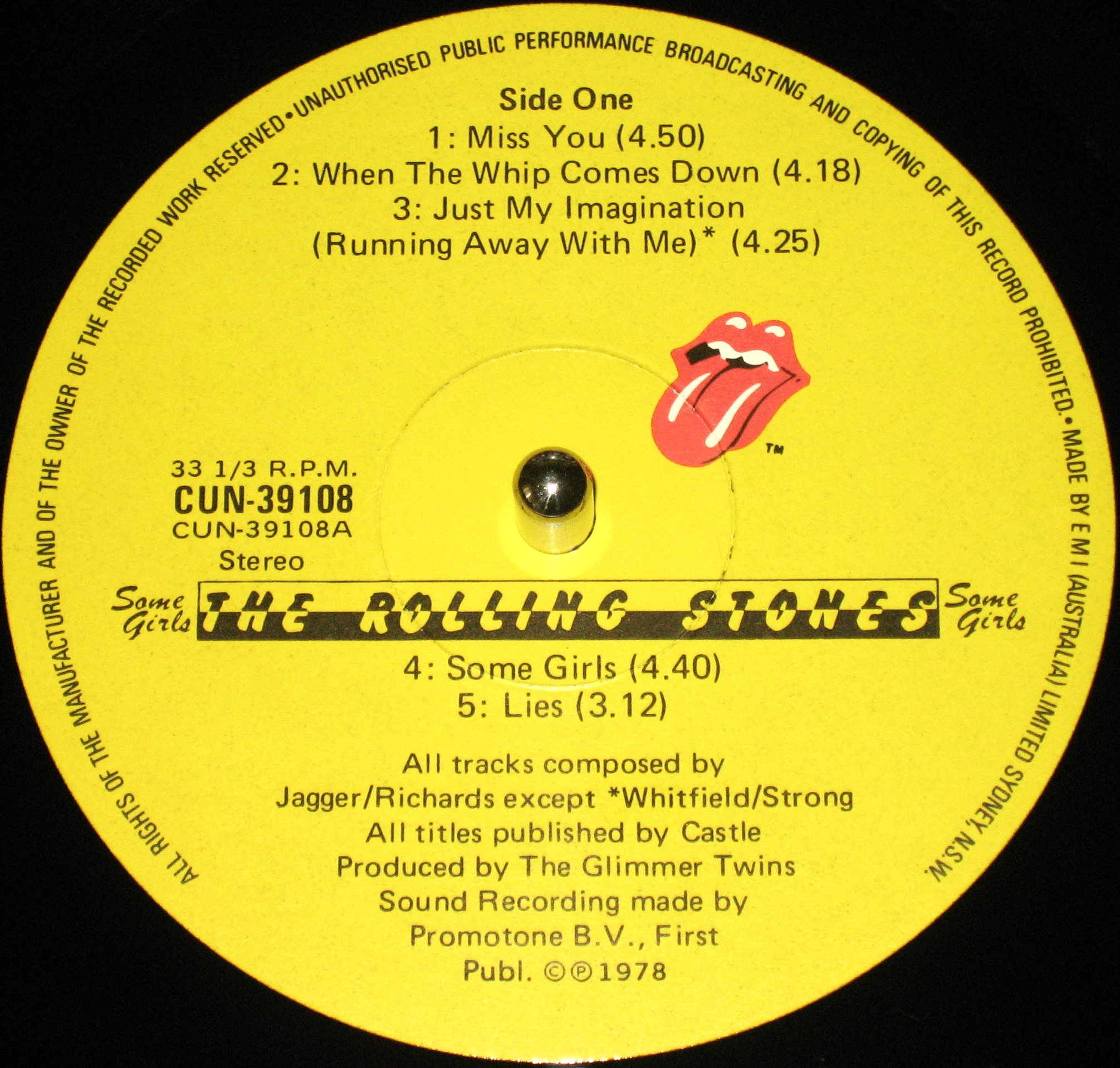The Rolling Stones Some Girls 1978 171 Dazzrecords
