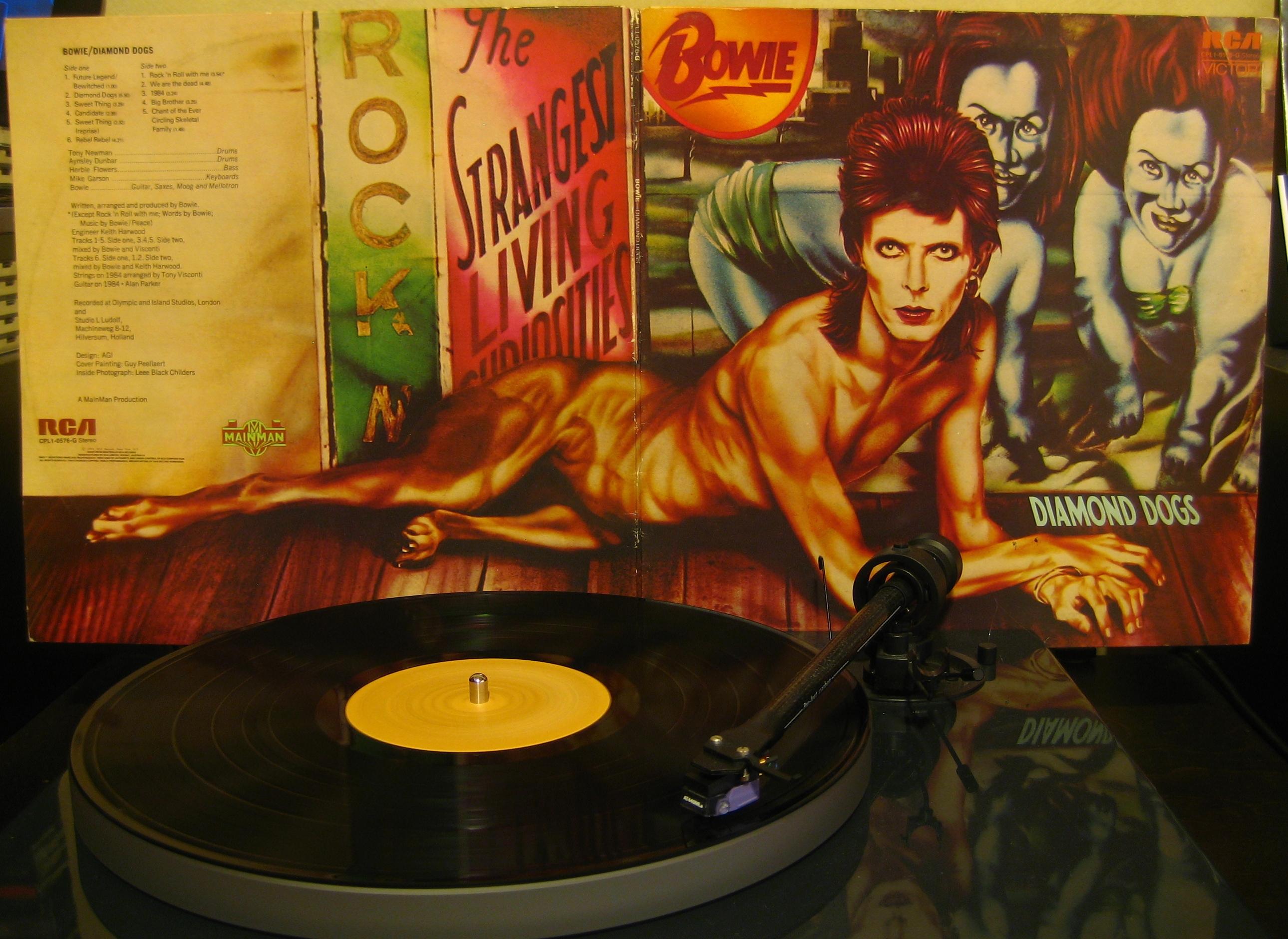 David Bowie Diamond Dogs 1974 171 Dazzrecords