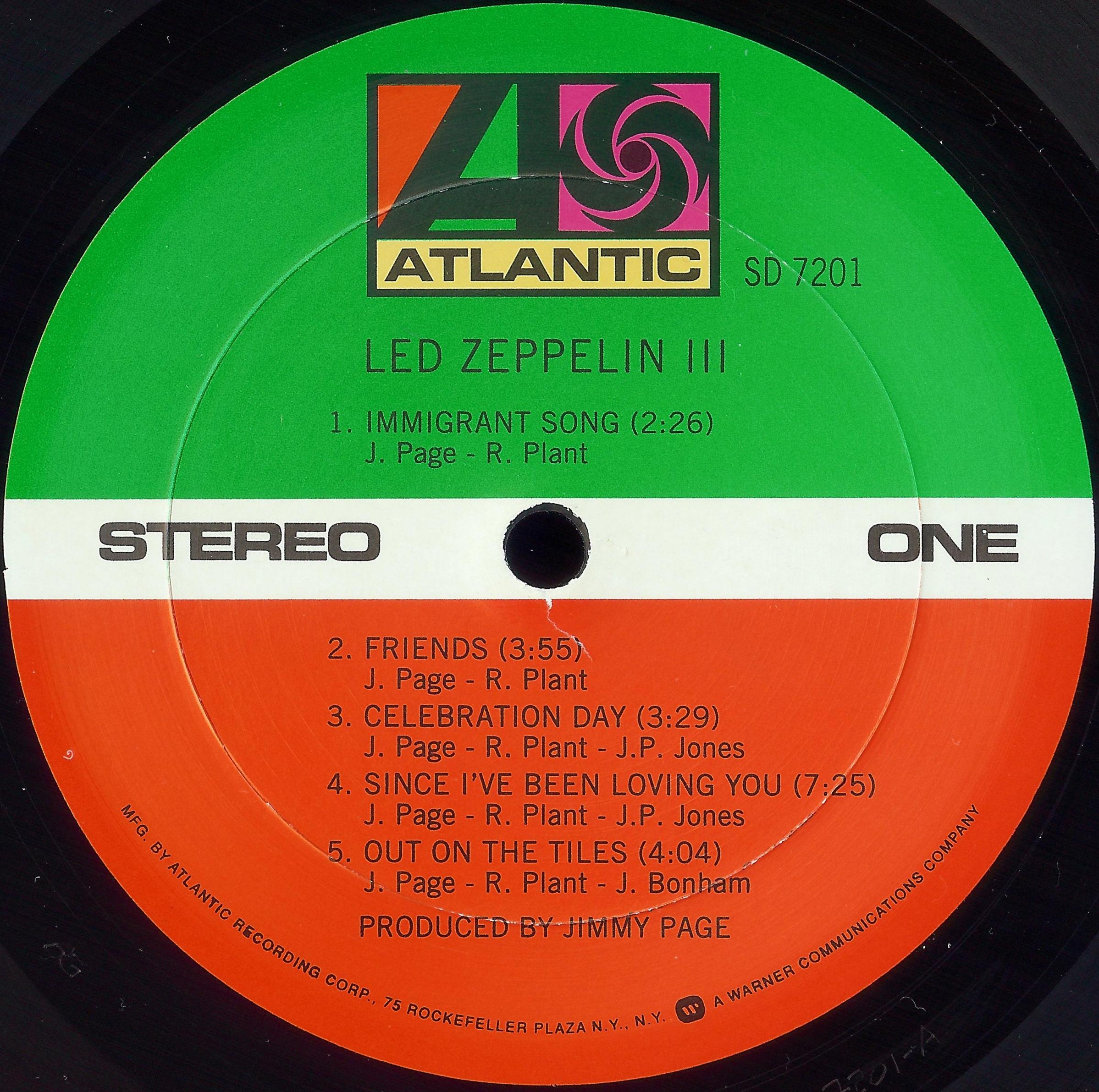 Led Zeppelin 171 Dazzrecords