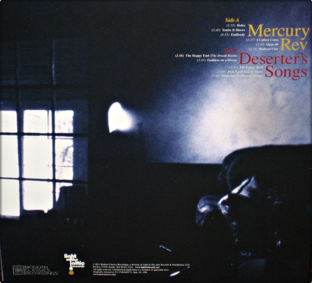 #1633 - Mercury Rev - Deserter's Songs (Back)