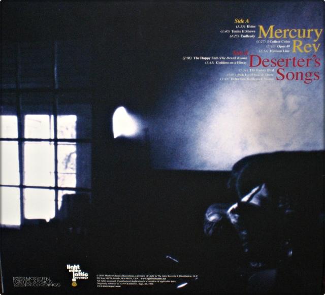 #1633 - Mercury Rev - Deserter's Songs (Back)