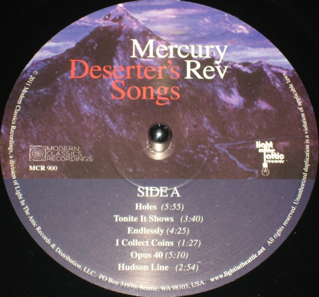 #1633 - Mercury Rev - Deserter's Songs (Label A)