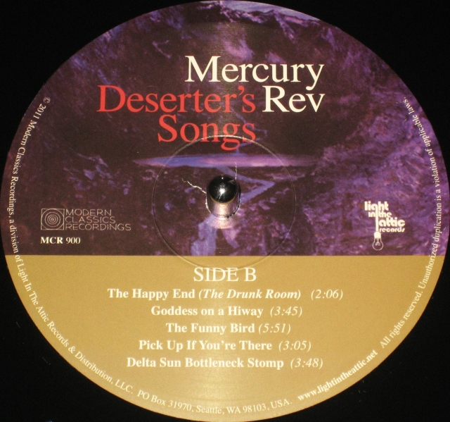#1633 - Mercury Rev - Deserter's Songs (Label B)
